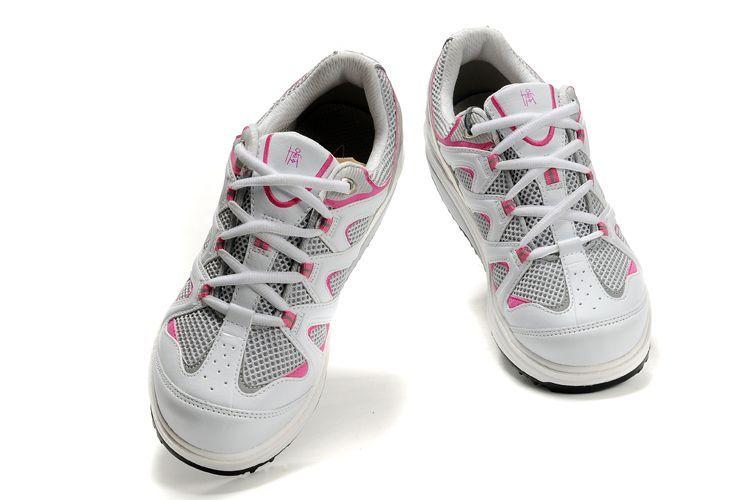 Mbt Sport White Pink