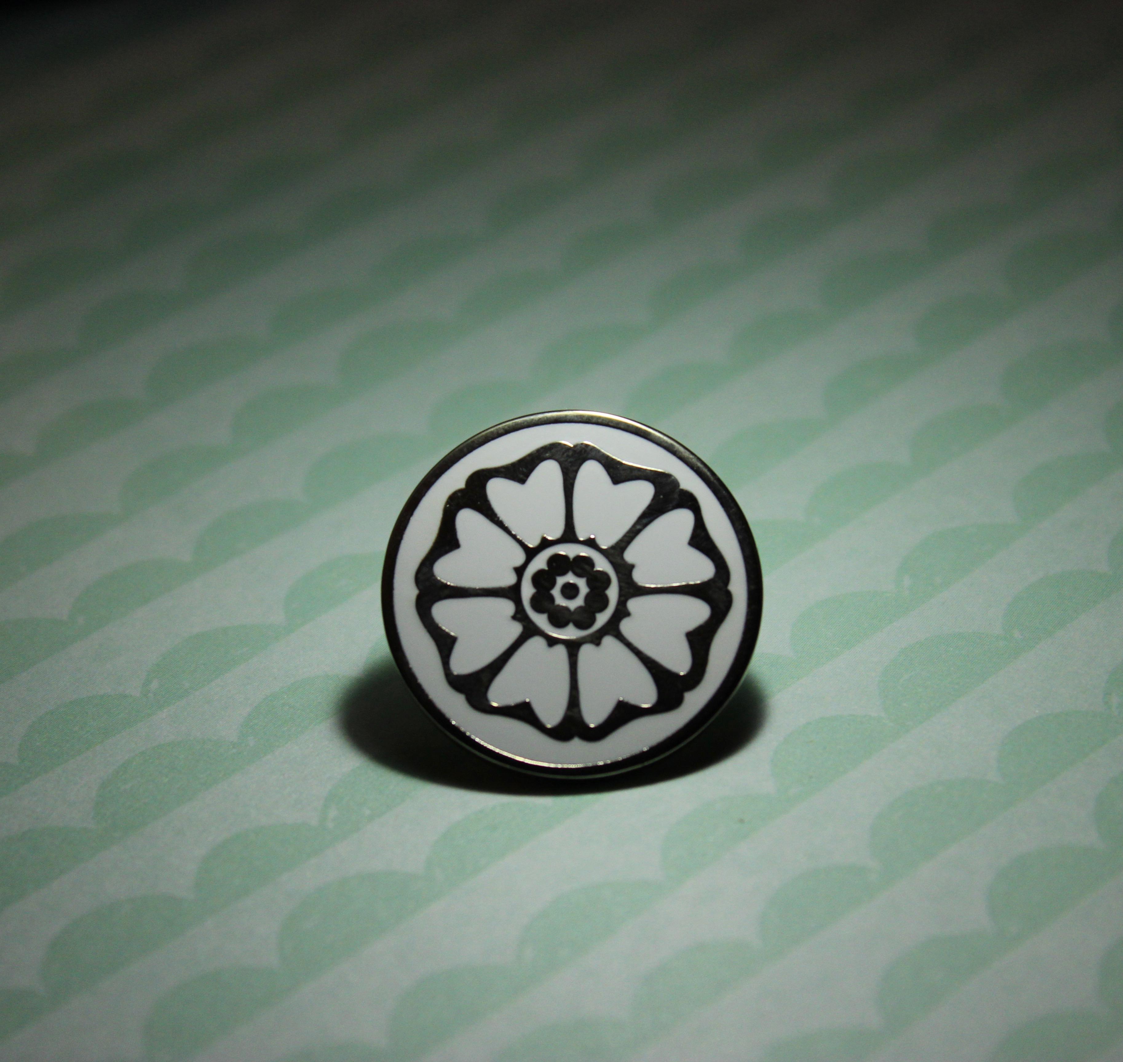 Avatar The Last Airbender White Lotus Tile Lapel Pin On Storenvy