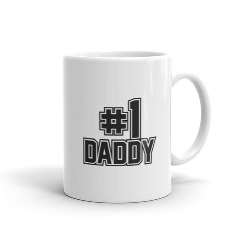 #1 Daddy Fathers Day Gift Coffee Mug