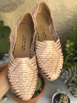 6096e4f8cb34 Natural Rombo Huaraches - Shoes - Leather - Mexican Huaraches - Mexican  Shoes - Sandals -
