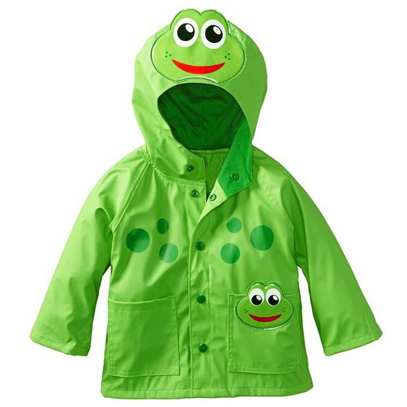 eb1076d1f726 2cheap sale waterproof kids raincoat cartoon wind resistant kids hooded rain  coat rainwear for kids regenmantel