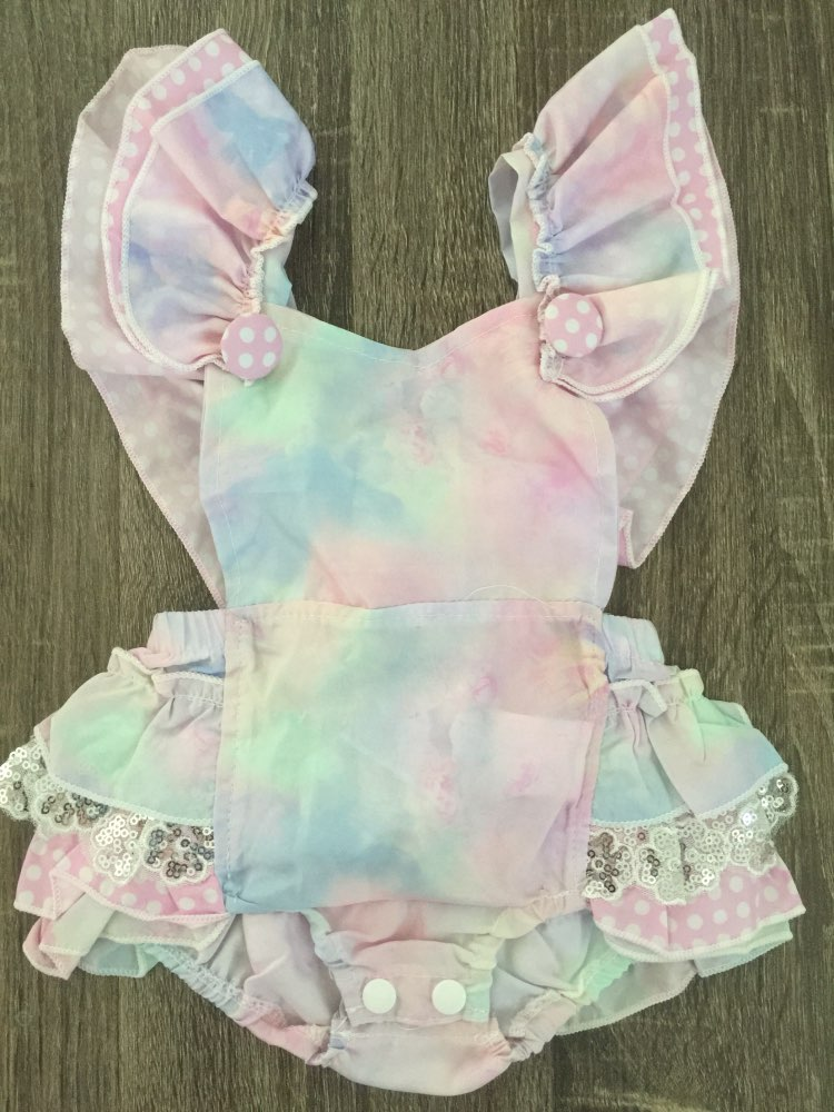 ef812222640a Unicorn girls romper