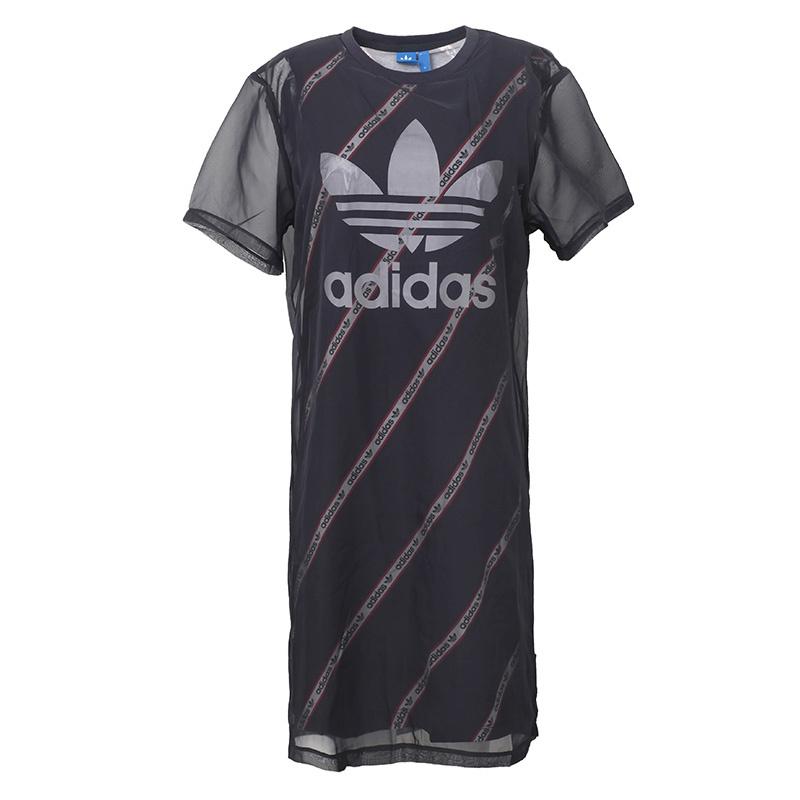 Ads Womens Xs-xl Sport Running Summer T-shirt Dress