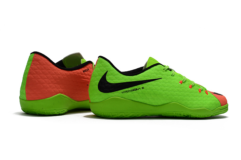 new product e8a17 f8a45 2017 Cheap Nike Hypervenom Phantom Premium IC Green Black Red on ...