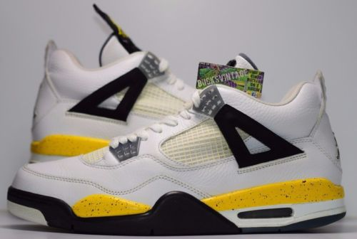 64f67416a44677 usa size 10.5 2006 nike air jordan iv retro tour yellow rare air 46dea 245c5