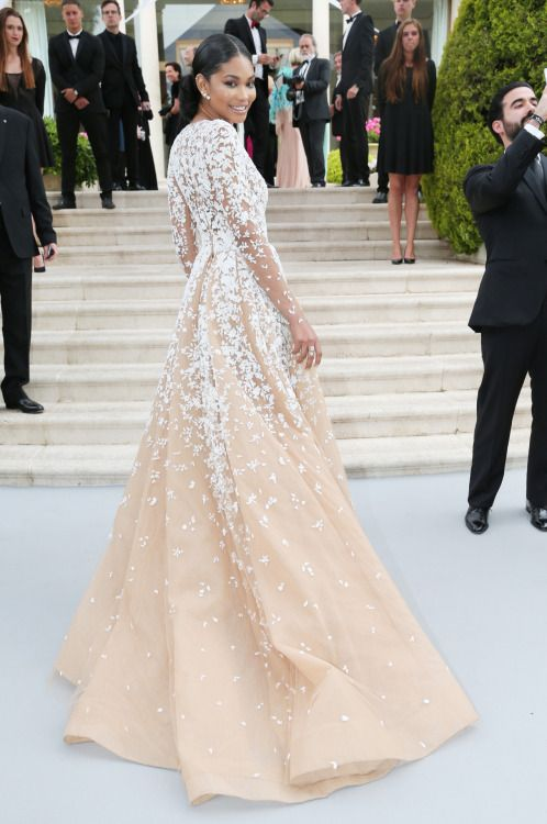 Chanel Wedding Dresses Deep V