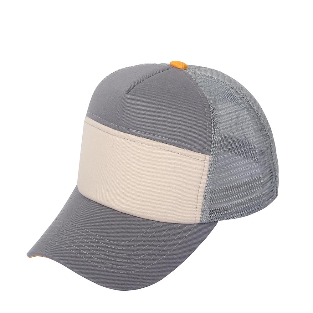 1b2480d790f Adjustable Plain Trucker Cap Mesh Back Baseball Cap Grey Color on Storenvy
