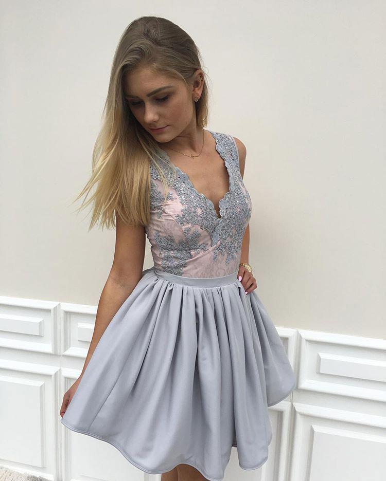 6fd23964eec0 A435 New Arrival 2017 Homecoming Dresses