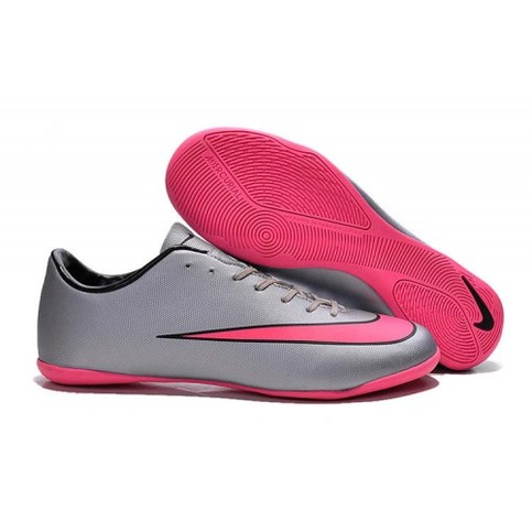 buy popular 95311 8f262 Nike Mercurial Victory V IC Silver Pink Black sold by Cleats23A