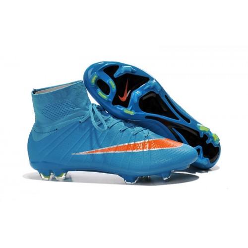 Nike Mercurial Superfly Fg Firm Ground Blue Orange