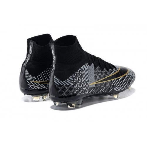online retailer b9bc0 3d044 Nike Mercurial Superfly IV BHM FG Black White Gold sold by Cleats23A