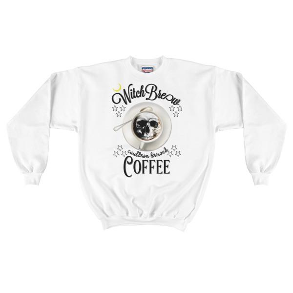 """witchbrew CoffeeCauldron Brewed"" Mens Crewneck Sweatshirt"