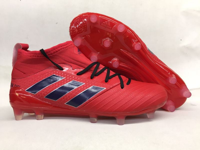 sports shoes 2df35 f7ca3 Adidas Cleats Adidas Ace Primeknit 17.1 Red Navy Blue Black sold by  cleatssale4A