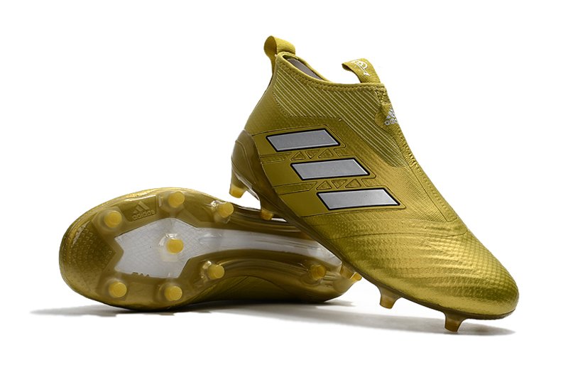 Adidas Cleats Adidas Ace 17+ Purecontrol Fg Gold White