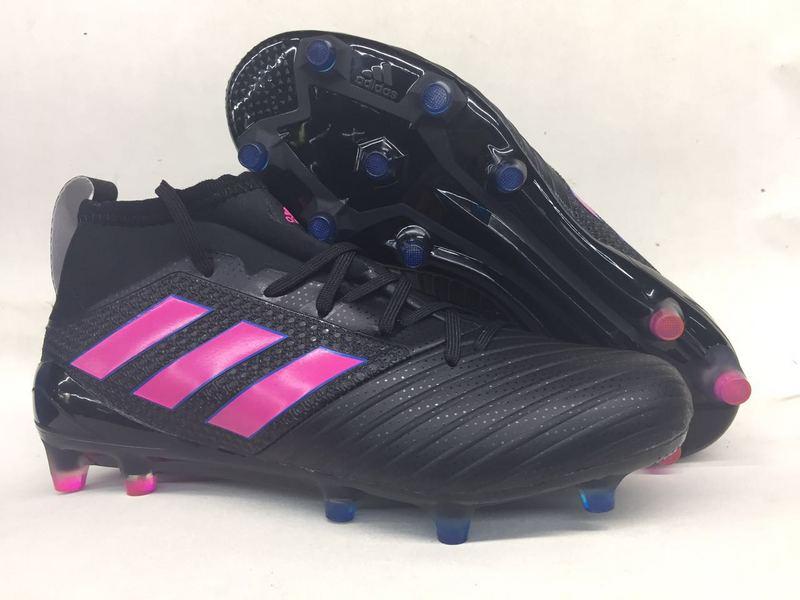 Adidas Cleats Adidas Ace Primeknit 17.1 Pink Black