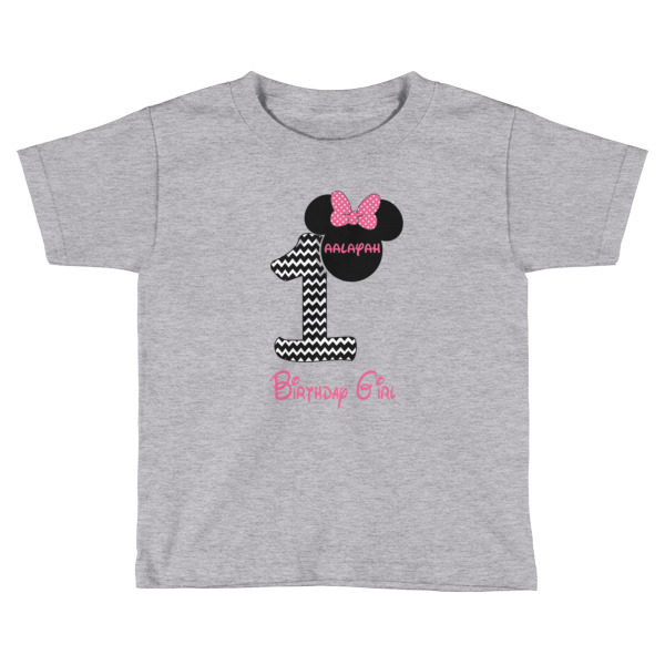 Birthday Girl Minnie Ears T-shirt - Custom
