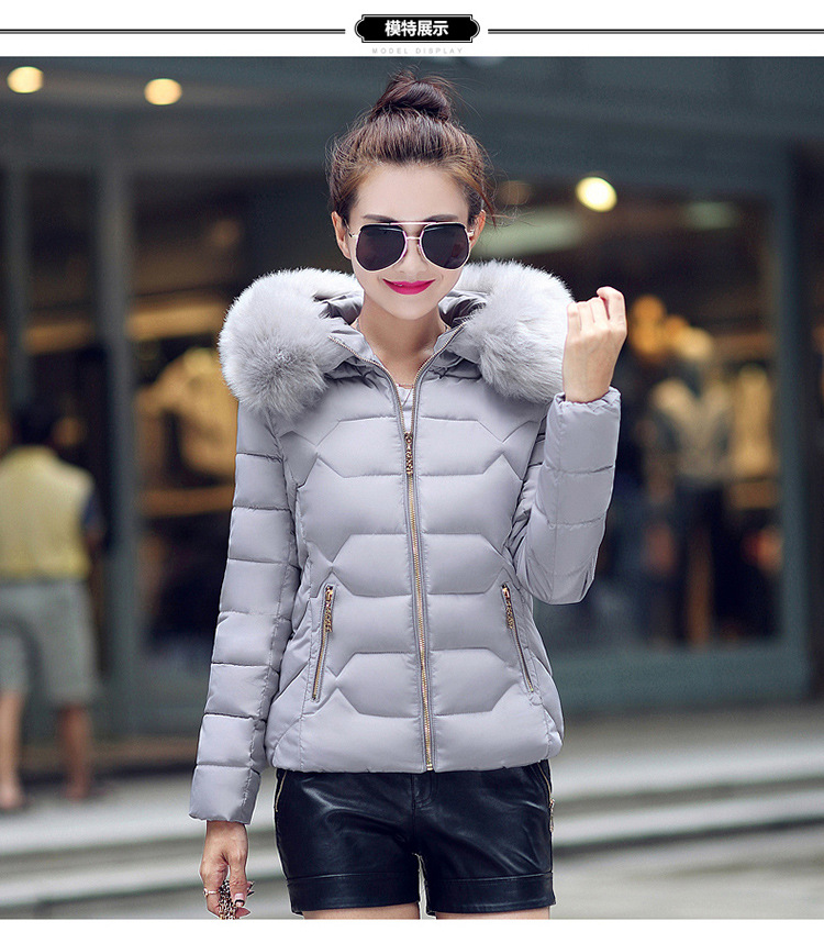 2017 New Autumn And Winter Jacket Parka Women Winter Coat Womens Warm Outwear Thin Cotton-padded Long Jackets Coat High Quality