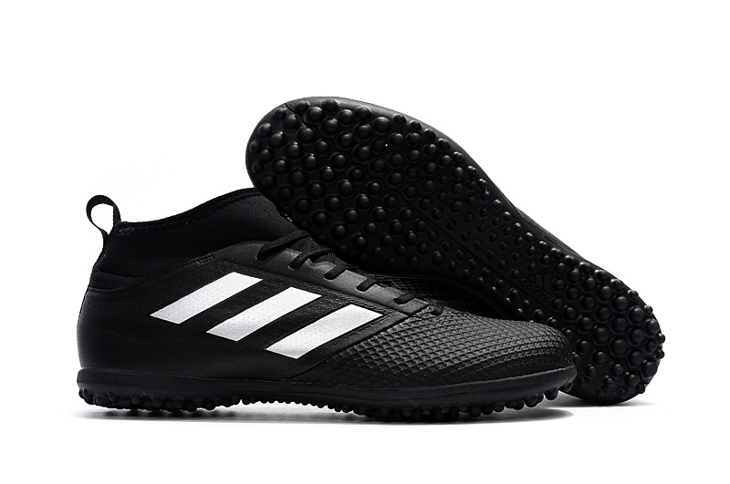 check out b72cb 79c06 adidas ACE 17.3 Primemesh TF Fluorescent All Black White Soccer Cleats sold  by cleatssale4A