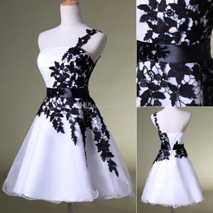 Classy Short Black Homecoming Dresses 2015