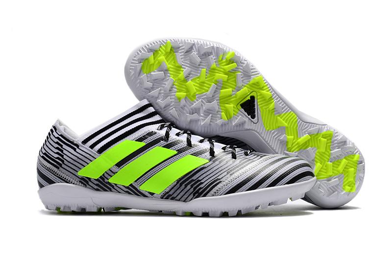Adidas Nemeziz 17.1 Tf Fluorescent Green Lime Grey Black