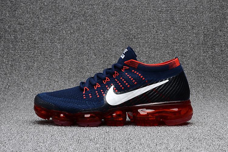 ef96a3b1e5a Cool Nike Air VaporMax Mens Dark Blue Red Shoe on Storenvy