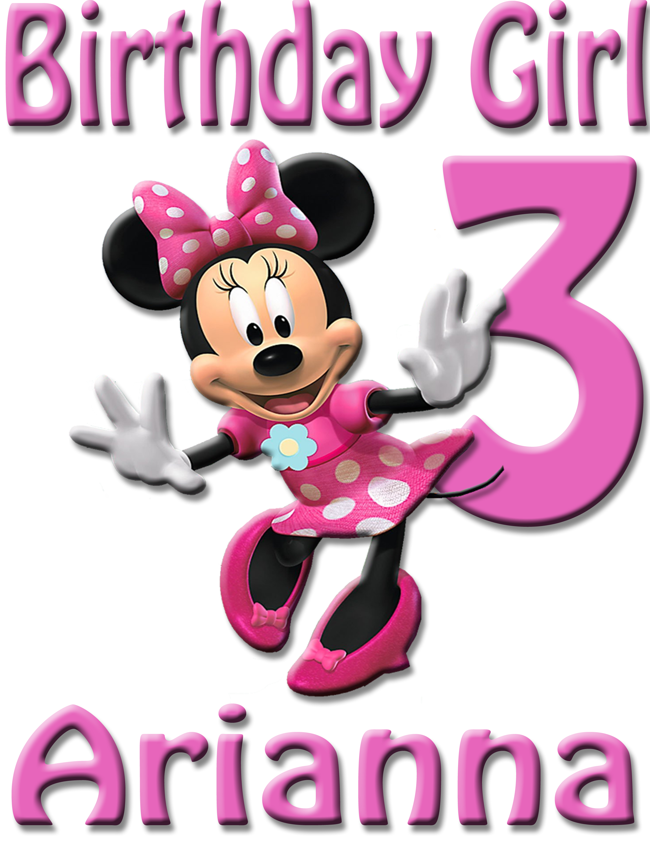3495e68bd Mickey Mouse Minnie BIRTHDAY SHIRT ADD NAME & AGE FOR FAMILY on Storenvy