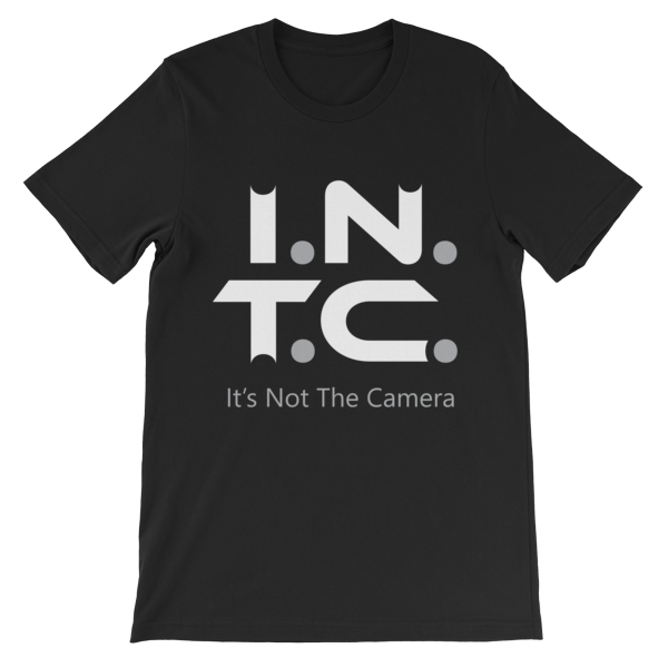 """its Not The Camera"" (mens Cut Tee)"