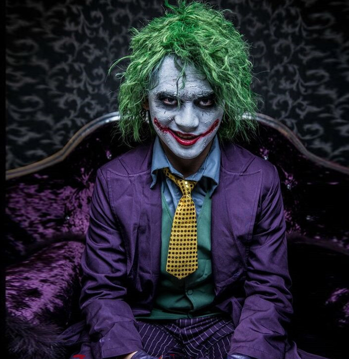 the dark knight joker cosplay halloween costumes on storenvy