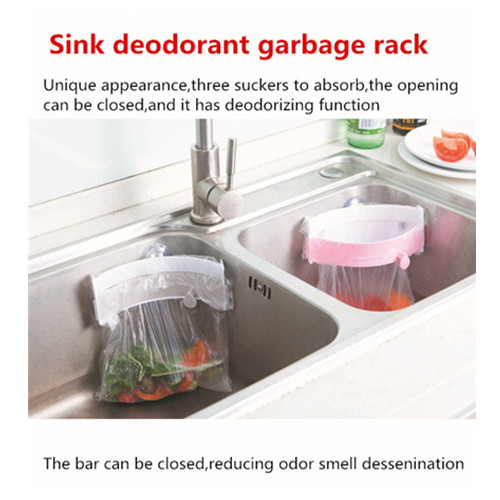 Trash Rack Powerful Suction Tank Garbage Bag Rack Creative Clamping Type Garbage Bag Rack Deodorant 105g