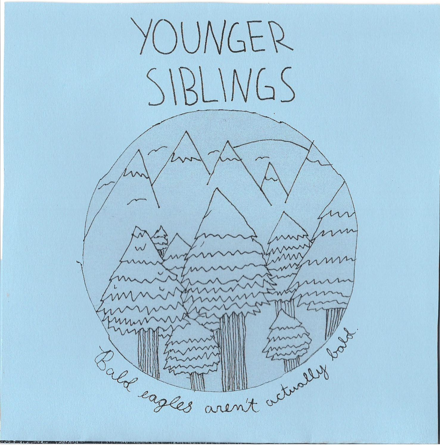 Younger Siblings- Bald Eagles