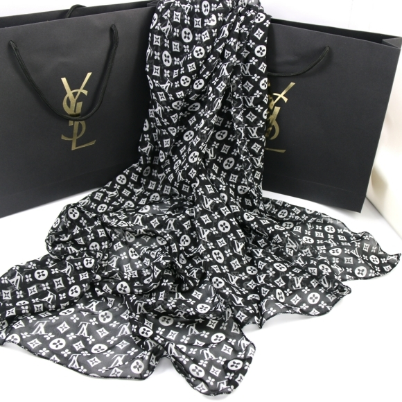 Ysl Yves Saint Laurent Womens Scarf/scarves