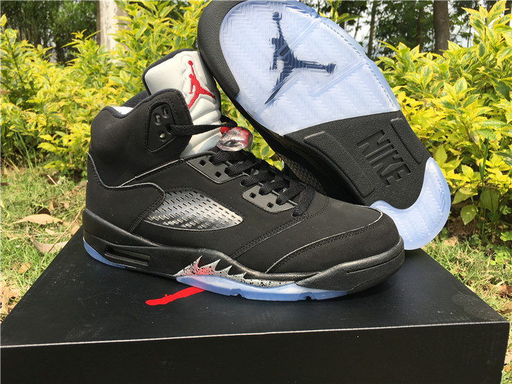 "6e618471dcf1 Nike Air Jordan 5 OG Retro ""Black Metallic"" Shoes Nike Air Jordan Retro 5  Shoes Men Basketball Shoes On Sale on Storenvy"