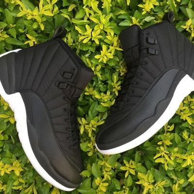 """5fd963191be Nike air jordan 12 """"black nylon"""" shoes nike air jordan retro 12 black nylon"""