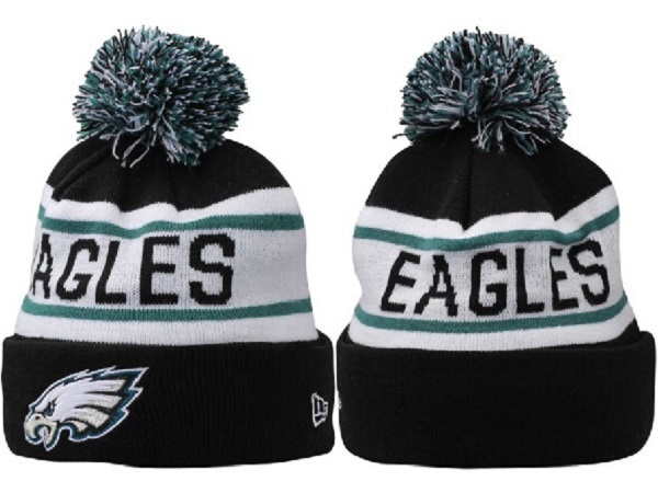 Nfl 20philadelphia 20eagles 20beanie 20new 20era 20knitted 20hat 20with  20pom 1158 original 8f5170f63
