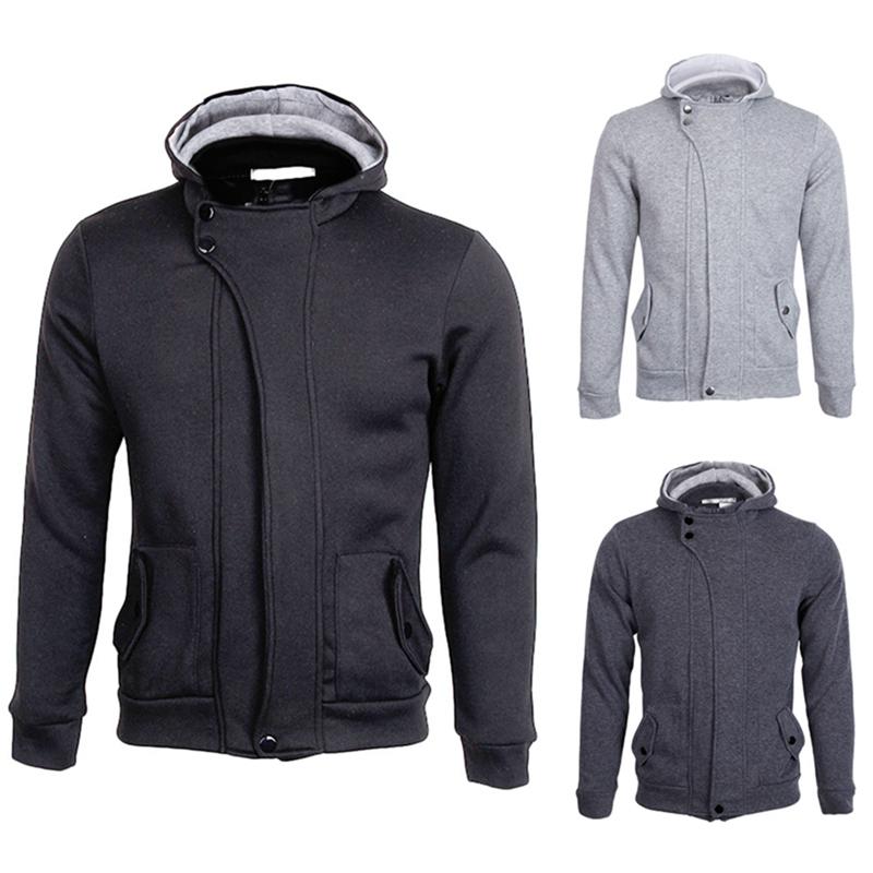 Hot Sell Mens Winter Slim Warm Coat Jacket Outwear Sweater Sweatshirt