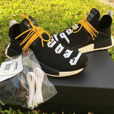 6b9e68b20d4 Fear of god x adidas nmd pharrell williams human race shoes