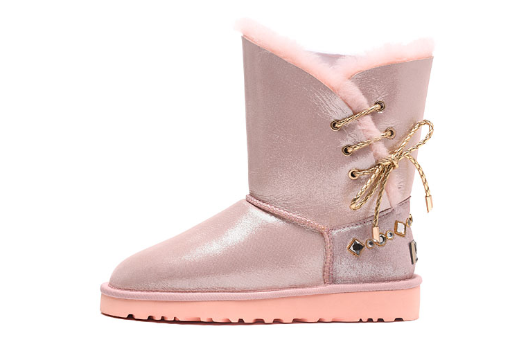 New Ugg Womens Boot 1018628 Pink All Sizes Water Resistance