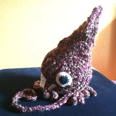 bfa75387a Squid Hat in Burgundy/Gold from Capitaine Crochet