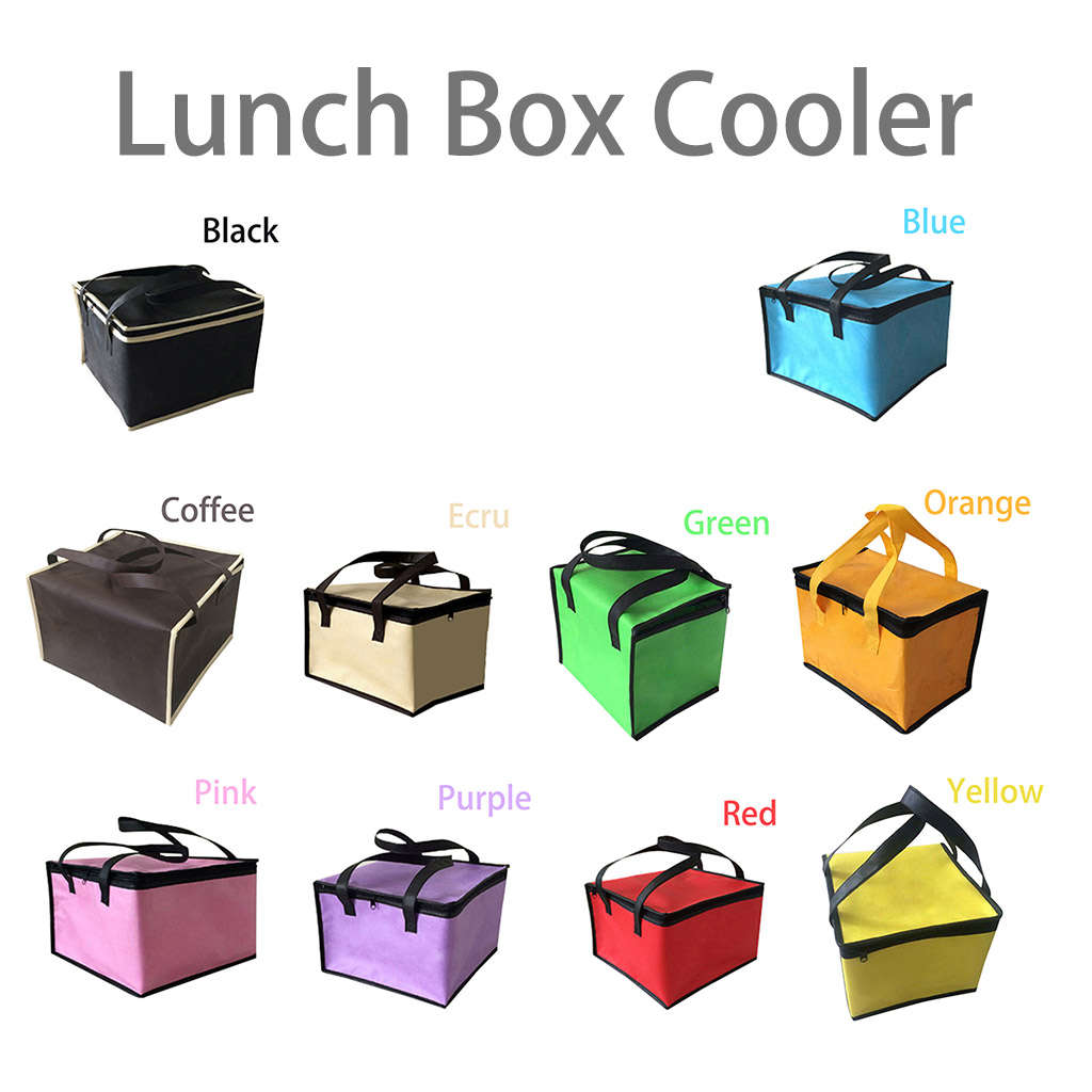 """Lunch Box Cooler Insulated Bag,Lunch Boxes for Adults 9 8""""×9 8""""×7 9""""(Size  A2) from CLONEW"""
