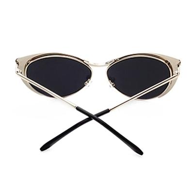 95c7054acc1 Vintage women s retro cat eye sunglasses metal oversized designer vintage  fashion shades 2017