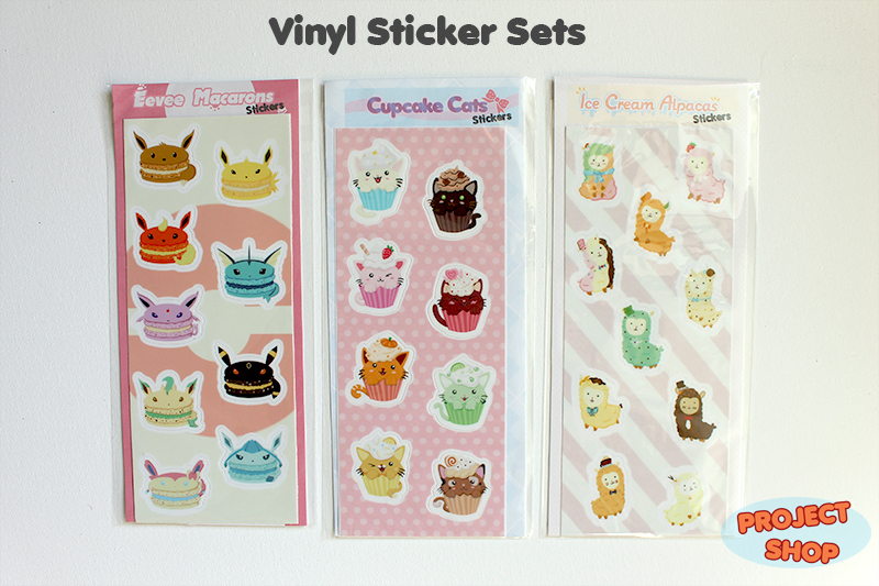 Eevee Macaron Sticker Set On Storenvy