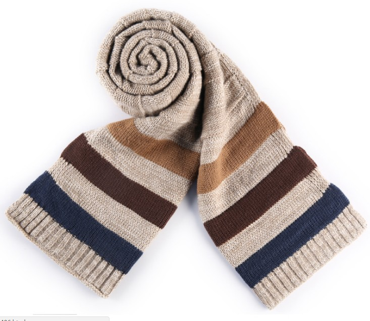 2017 New Warm Men Knitted Scarves Imitation Cashmere Warm Soft Autumn And Winter Men Scarves
