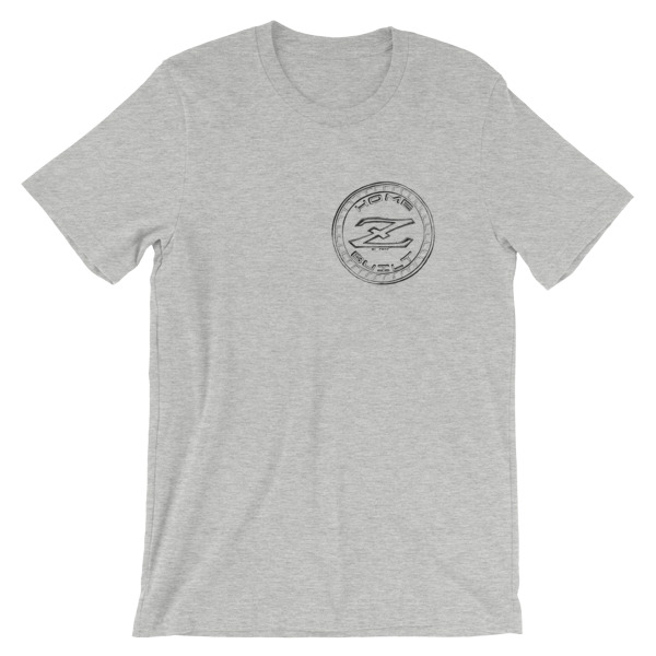 Z Logo White And Grey Unisex T-shirt