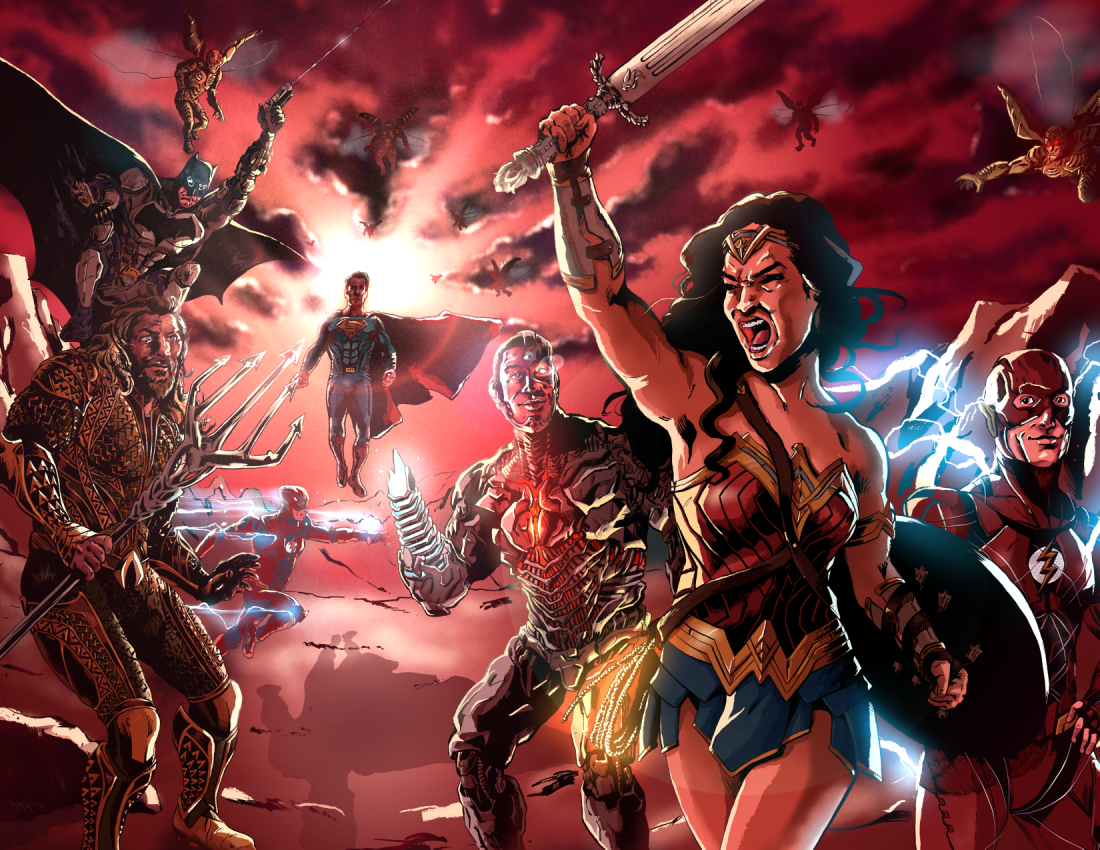 Image of Justice League - Art Print
