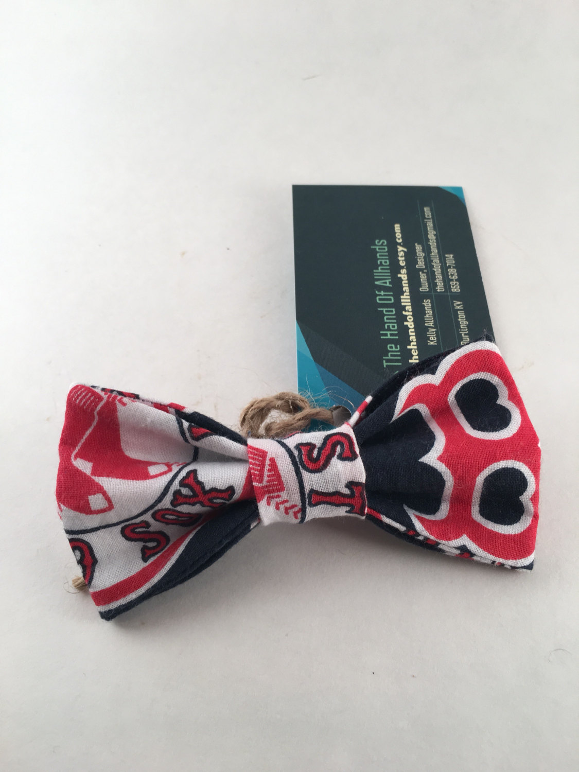 Red Sox! Dog Bow Tie..s-m-l