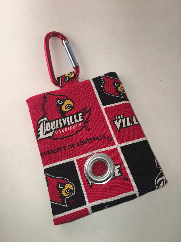 Louisville Cardinals Poop Bag Holder