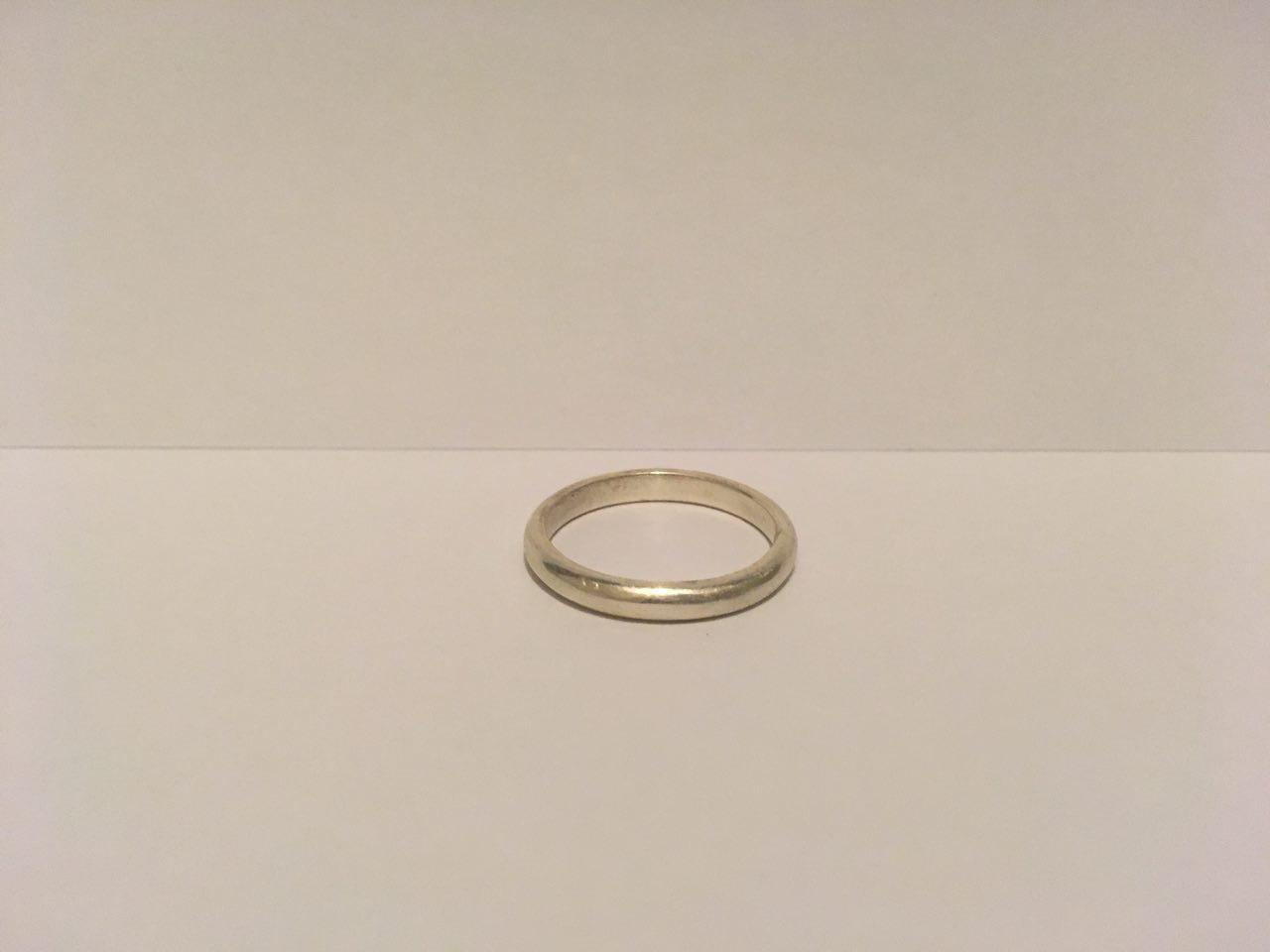 Narrow Sterling Silver Ring