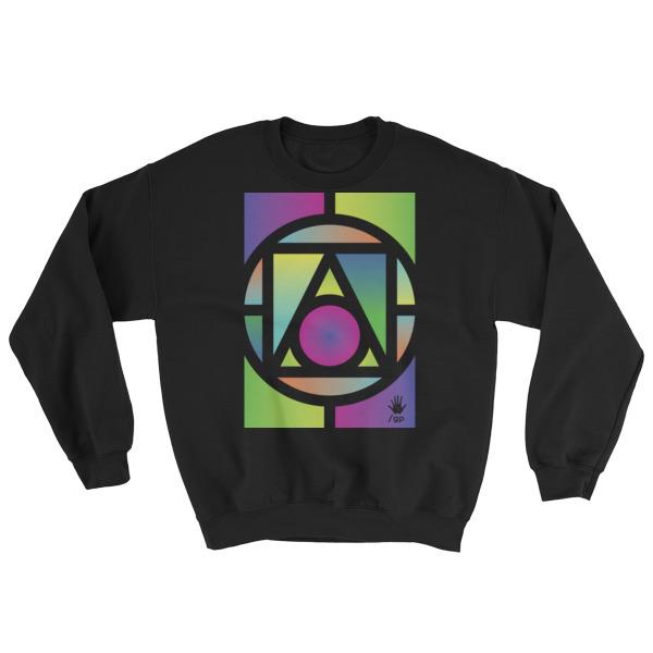 Geometry // Mens Crewneck Sweatshirt