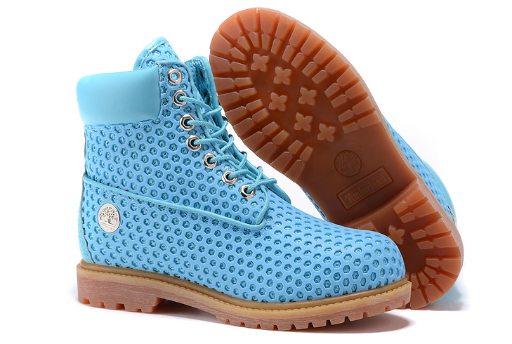 New Timberland 6 Inch 54054 Blue Girl Womens Boots Shoes Breathable Vent Tech Boot Chukka Boots Winter Boot