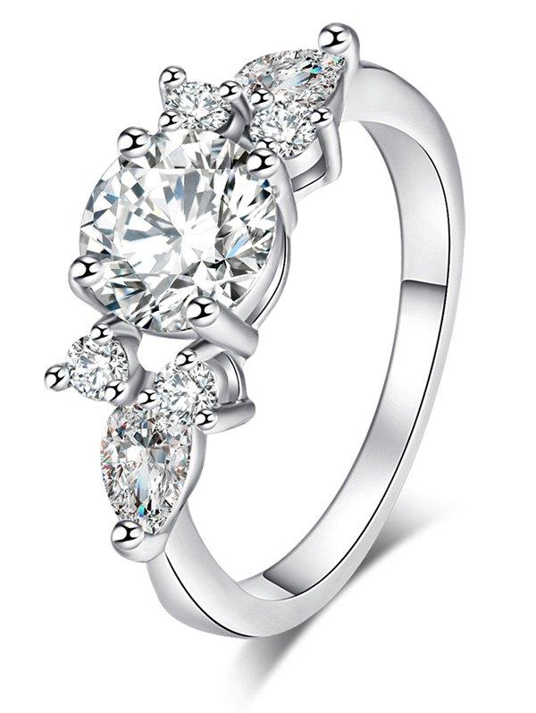 Embellished Cz Ring